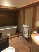 the bathroom in a chateau suite