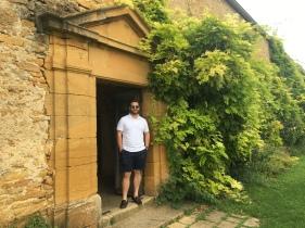 beautiful grounds at chateau de bagnols