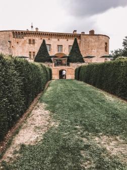 The front of Chateau de bagnols