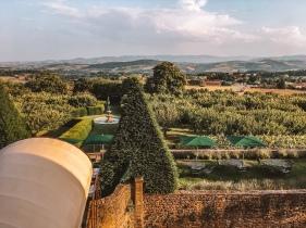 stunning views at chateau de bagnols