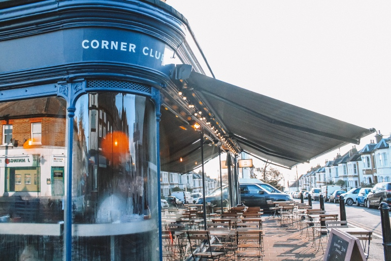 The outside of Corner Club Leigh-on-Sea