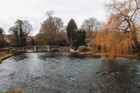 Sheepwash Bridge Asford in the Water