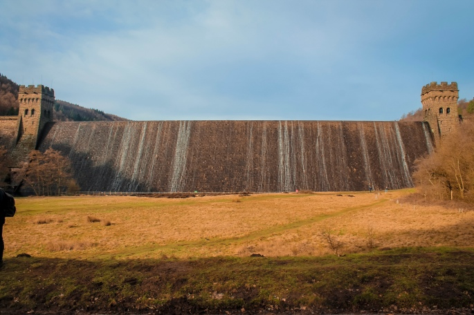 The Dam at Lady Bower Reservoir